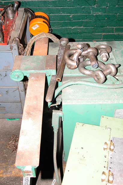 1-1/2 PINES MODEL 1 ROTARY HYDRAULIC BAR, TUBE & PIPE BENDER