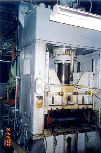 200 TON VERSON MODEL 200-HDI-60T HYDRAULIC PRESS