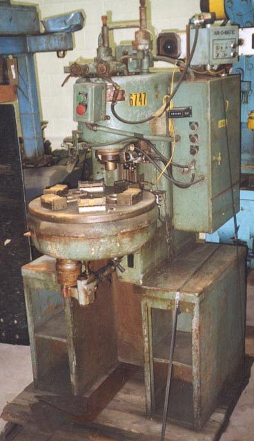 6 Ton DENISON Hydraulic Press, 8 Str, 12 Open Ht, 16 x 11 Bed, 6-Sta Table