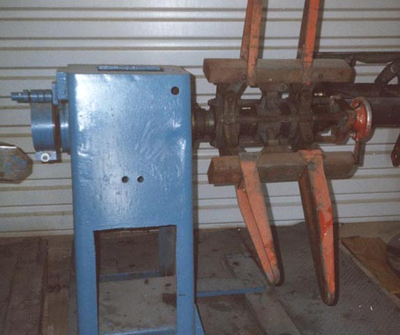 5,000 Lb COOPER WEYMOUTH PETERSON Uncoiler, 18 to 24 ID, 60 OD, 18 Width