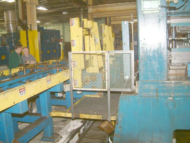 15,000 Lb Die Handling System, Many Spare Parts Including Spare Control