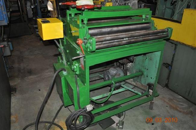 .065 x 30 ROWE MODEL ST-30 Straightener, 7-Roll, Entry & Exit Pinch Rolls