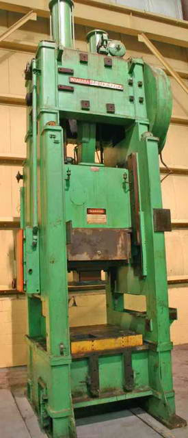 150 Ton NIAGARA SSSC Press, 12 Str, 37 SH, 33 x 42 Bed, 60 SPM, 25 HP