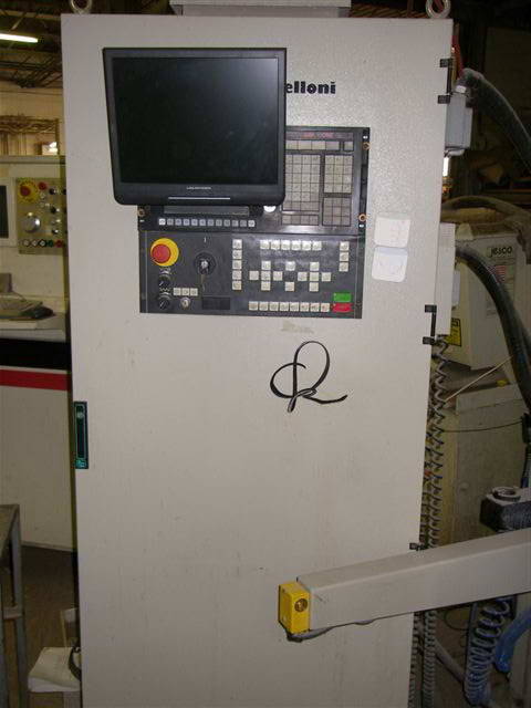 Z BAVELLONI EGAR MODEL 102-S CNC HORIZONTAL GRINDING MACHINE, 26 HP, 12000 RPM,