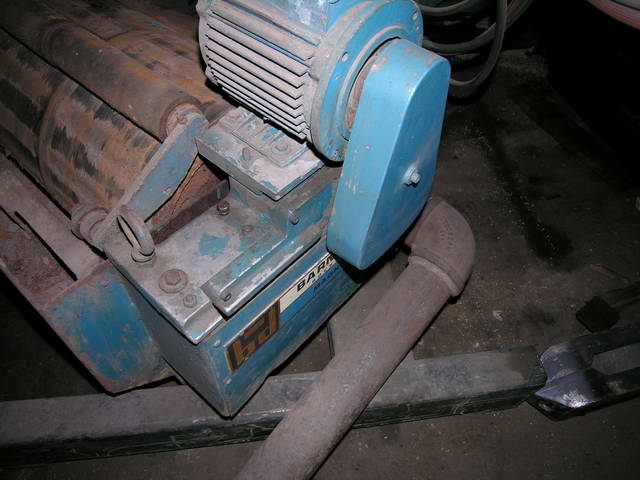 20 BARNES DRILL MODEL CS-4 Magnetic Separator, 25 HP