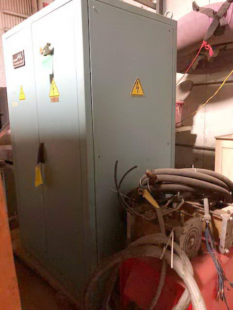 100 KVA, 2 TERMOMACCHINE Bright Annealer, Model No. 70.075.06, 1997, w/3 Coils