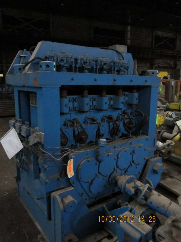 4 SUTTON No. 3-3-1/2-L 2-PLANE SHAPE STRAIGHTENER, 1963,