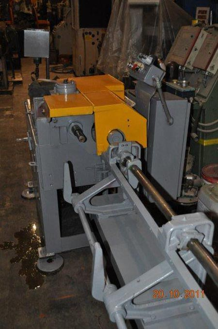5/16 G C PATTERSON MODEL 2A-COM-SU Wire Straightener & Cut-Off, 15' Runout