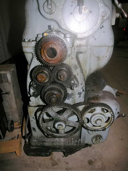 45 x 11' AMERICAN Engine Lathe, Std. Threading, 2 5/8 Spindle Hole, Steady