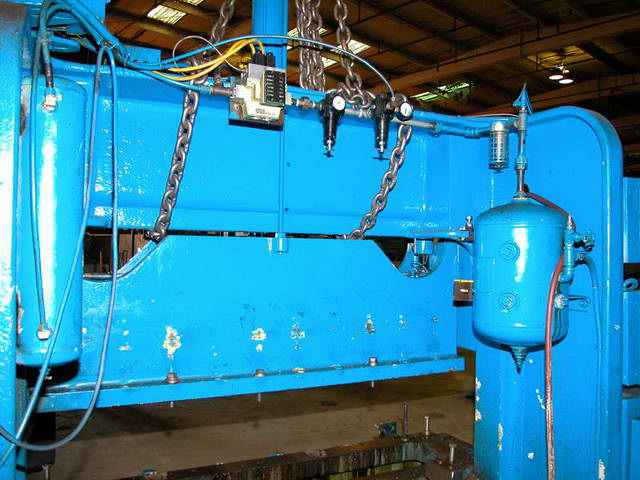 60 Ton ROUSSELLE MODEL 6B-76 DOUBLE CRANK FLYWHEEL OBI PRESS, 110 SPM,