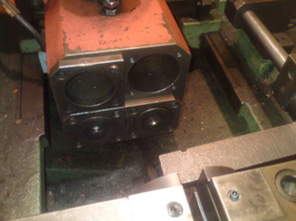 PEDRAZZOLI No. SB40-4P MULTI-HIT TUBE END FORMER, 1996,