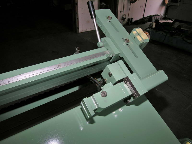 275mm SALA ADIGE TT640 Cold Saw, 59 Cut Length, 62 to 984 FPM, Bundle Rack