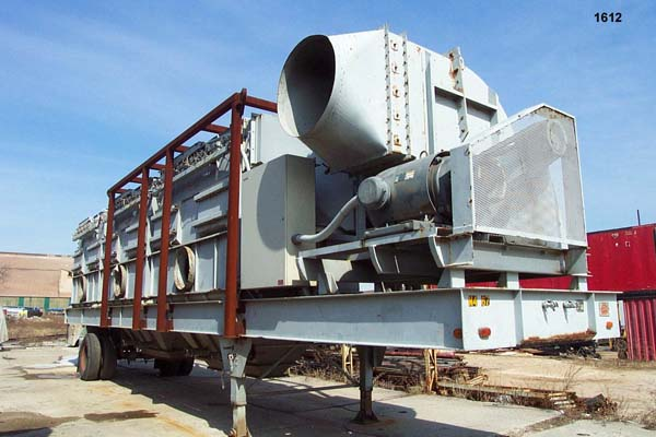 50,000 CFM TORIT Dust Collector, Made From (3) Torit 6120 With 200 HP NY Blower
