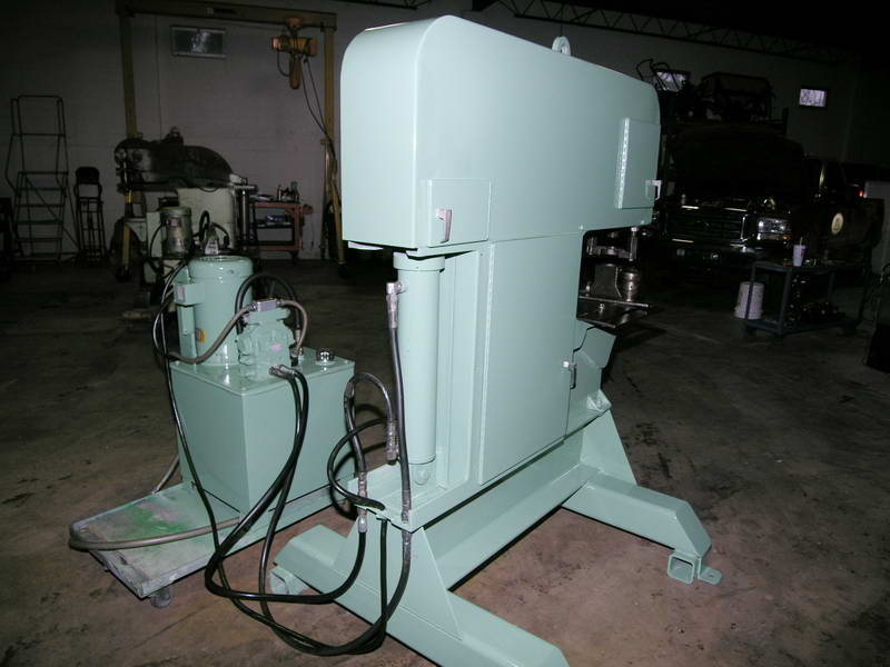 120 Ton PIRAHNA Punch, 1-1/2 Hole @ 1 to 5 Hole @ 1/4 , 21.5 Throat, 10 HP