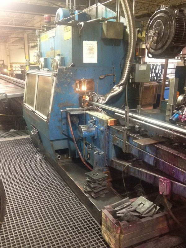 3 ALPHA 3007 Double Cut, Unico Controls, .028 to .160 Wall, 500 FPM, 2003