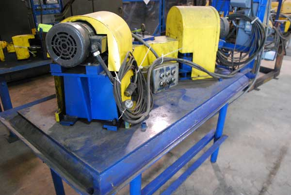 1/2 MACKINTOSH-HEMPHILL AY-HD 6-Roll Straightener, Top Rolls Vert Adj, (2) 2 HP