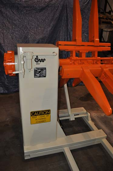 8000 Lb. COOPER WEYMOUTH PETERSON MODEL 4R24 NON-MOTORIZED UNCOILER,