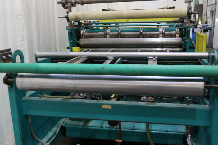 48 x 18 Ga IOWA PRECISION Cut-To-Length (Slear) Line