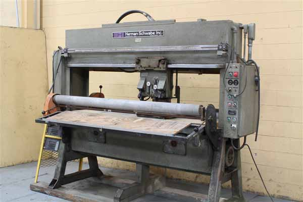25 Ton HERMAN SCHWABE ATH Clicker Press