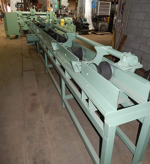 5 1/4 BEMCOR Little Slugger Hyd Shear, 800 Ton, Automatic Bar Loader & Feeder