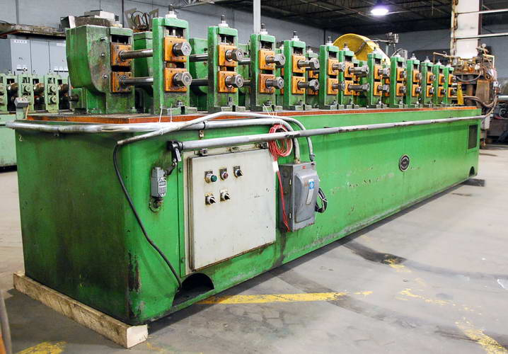 12 STND B & K / MV Roll Form Line, 1-1/2 Spdl, 12 RS, 14 Horiz, 4 to 6 Vert
