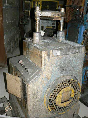 5 Ton MICHIGAN 2-Post Cut-Off Press, 1-1/2 Str, 4 to 5 SH, 150 SPM, 1 HP