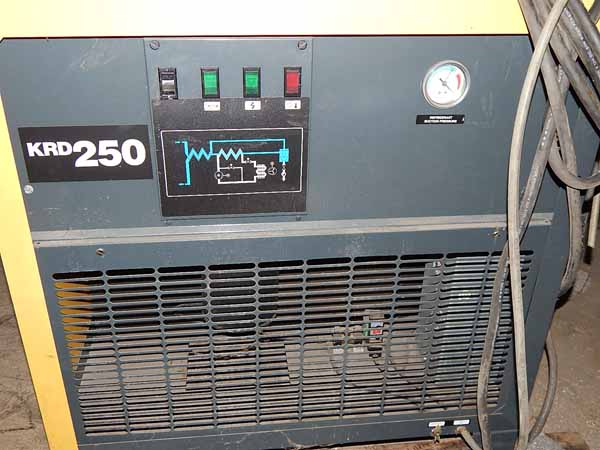 250 SCFM @ 100 PSIG @ 100 Deg KAESER Refrigerated Air Dryer, 300 PSIG Max