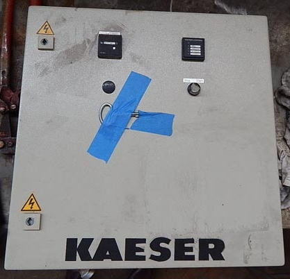 188 CFM @ 580 PSIG KAESER N501-G Booster Air Compressor, 3.2:1 Boost, 30 HP