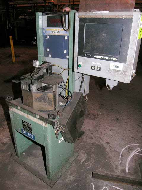 DPS-60 COLUMBIA MARKING TOOLS Dot Peen/Scribe Marking Machine, Programmable