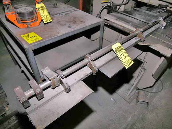 30 Ton STRIPPIT Punch, Single End, 64 x 30 Work Table, 22 Throat