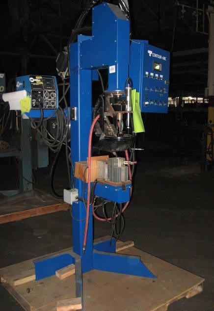 CONTOUR-ARC Model MW, 360 Degree Welder w/Torch Manipulation, Miller Wire Feeder