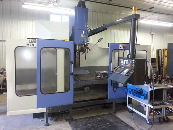 52 X, 30 Y, 22 Z LEADWELL MCV-1300D Vert Machining Center, 67 x 27.5 Table