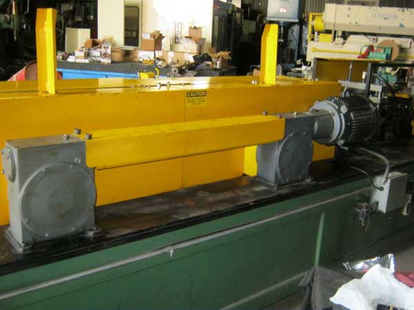 12 STND CUSTOM ROLL FORM PRODUCTS Roll Former, 1-3/4 Spdls, Str, C/O, 7-1/2 HP