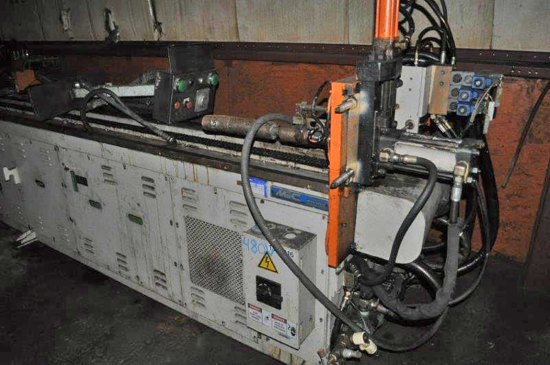 2 MIIC MC50 RLS CNC Tube Bender, 3-Axis, CCW, Sgl Stack Tooling, Hyd Clamp/Bend