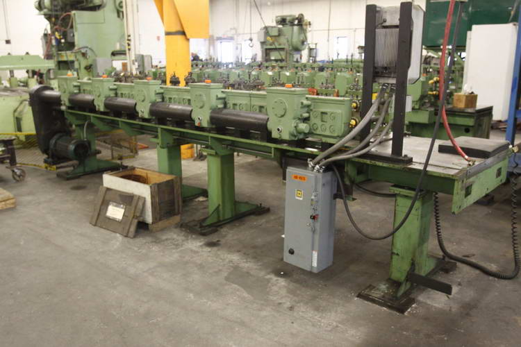 30-Stand DREISTERN Rafted Roll Former, 1-1/2 Spdl, 12 RS, U-Joint Drive, 15 HP