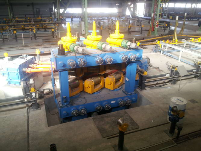 10mm up to 355mm 6-Roll Steel Pipe Straightening Machine