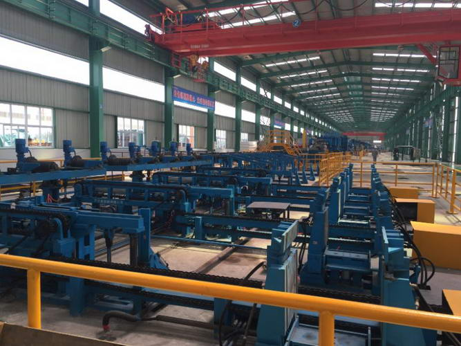 Custom Tube Mill Handling Equipment, Pick & Place Unloader