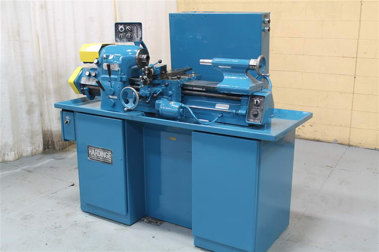 11 /6 x 18 cc HARDINGE Engine Lathe, 1-1/4 Spdl Hole, 125-3000 RPM, 1-1/2 HP