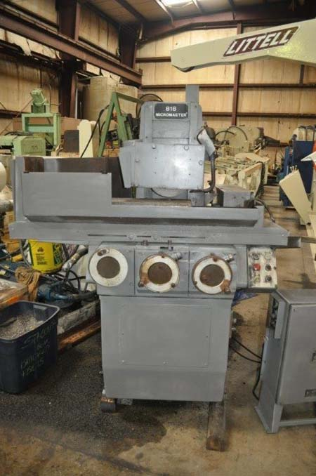 8 x 18 BROWN & SHARPE 818 Micromaster Hyd Surface Grinder, Mag Chuck