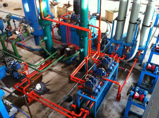 Hydrostatic Testers, 16mm to 76mm 4-Head Machine to 457mm Single Head Machine