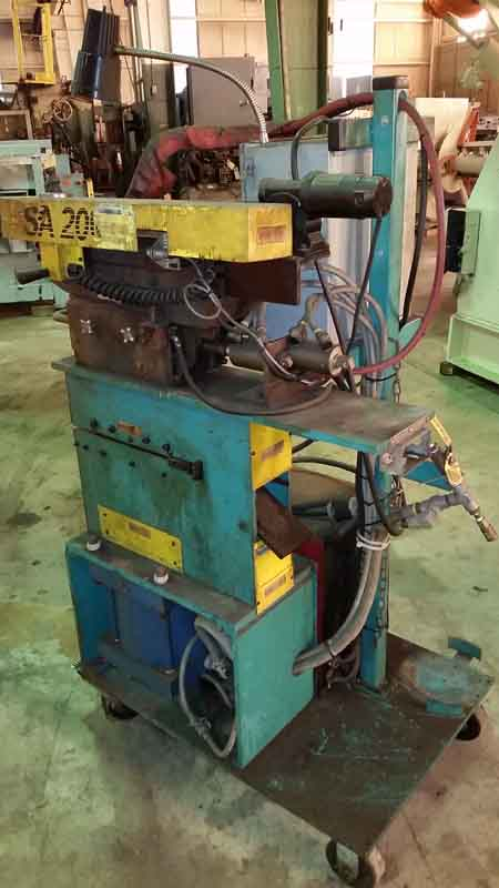 GUILD Shear End Welder, 10 x .135 Max Cap, Miller Econotig Power Source