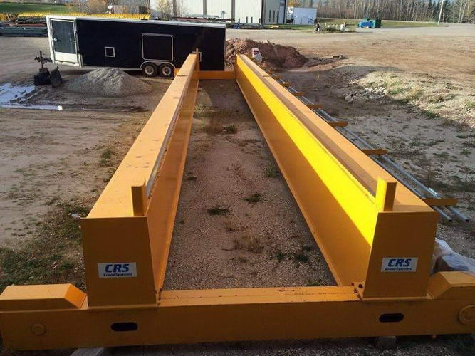 30 Ton ABUS / CRS Bridge Crane, 61'4 Span, Pendant, Columns/Runway Available