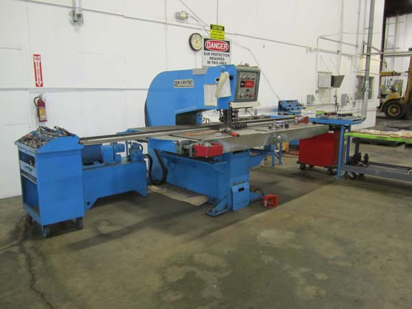 30 Ton W A WHITNEY Duplicator/Punch, 3/8 Material, 30 Thr, 75 Longest Part