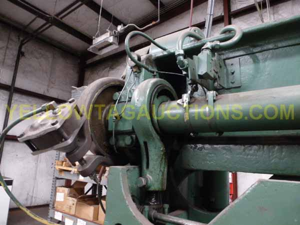 60 Ton ROUSSELLE 6B-76 Double Crank Gap Frame Press, 2 Str, 12.5 SH, 50 SPM