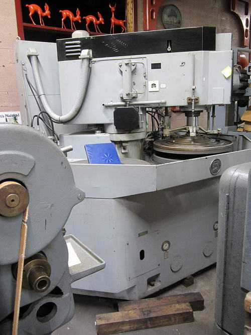 30 HAHN & KOLB MODEL DL-800 DOUBLE SIDED LAPPING/FINE GRINDING MACHINE, 2003,