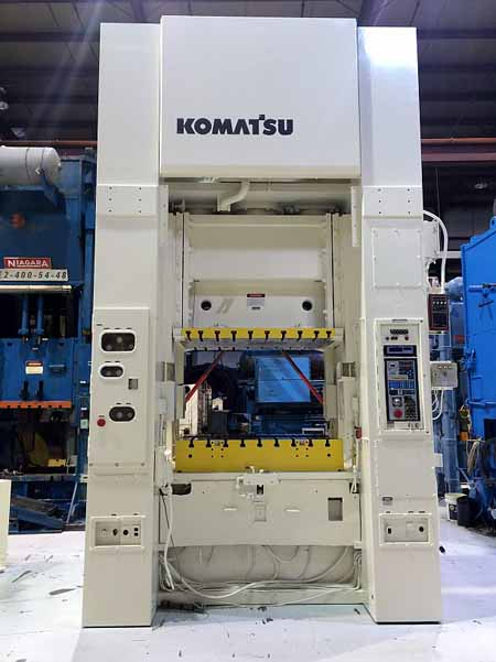 300 Ton KOMATSU MODEL E2M 300 S.S.D.C. PRESS, 1992,
