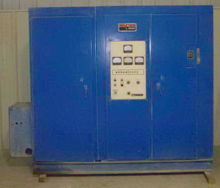 AJAX-TOCCO HF Seam Annealer With Hercules Heat Station, Rebuilt, 600 kW