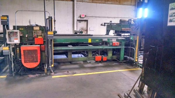 72 DAHLSTROM CUT-TO-LENGTH LINE, 1976,