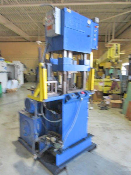 50 Ton NEFF H-SERIES 4-POST HYDRAULIC PRESS, 10 Str, 22 x 1981,