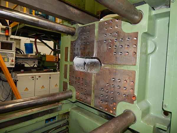 112 Ton ARBURG 2-Shot Injection Molding Machine, 22.4 Platen, 6.8 Ejector Str
